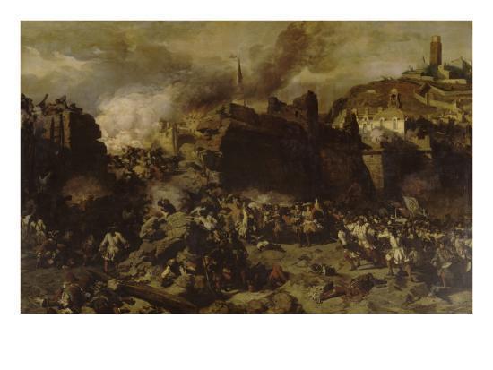louis-charles-auguste-couder-prise-de-la-ville-de-lerida-par-le-duc-d-orleans-le-13-octobre-1707