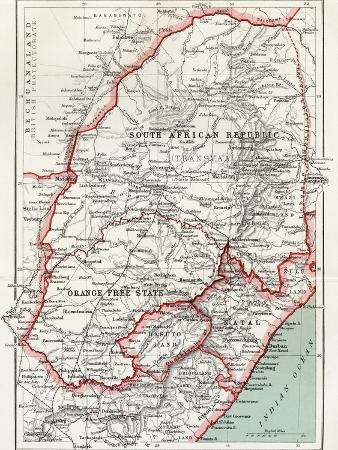 louis-creswicke-map-of-south-african-republic-orange-free-state-and-natal-c-1900