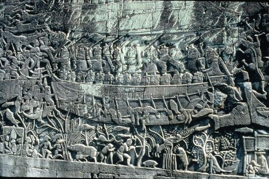 low-relief-sculpture-depicting-the-naval-victory-of-jayavarman-vii