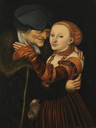 lucas-cranach-the-elder-the-unequal-couple