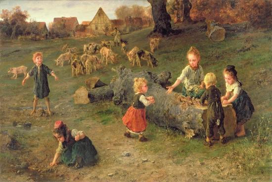 ludwig-knaus-mud-pies-1873
