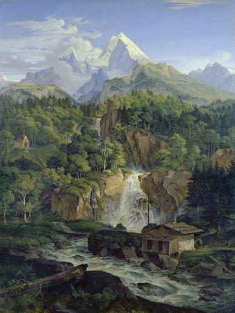 ludwig-richter-der-watzmann-1824