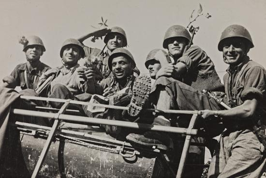 luigi-leoni-the-brigade-piave-enters-rome