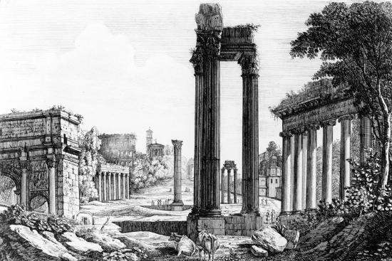luigi-rossini-general-view-of-the-roman-forum-1817