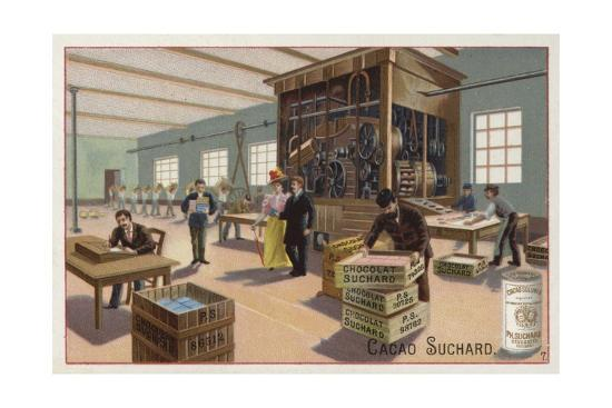 machine-for-making-cocoa-into-chocolate