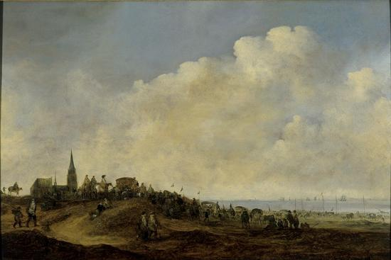 maerten-fransz-van-der-hulst-departure-of-william-ii-for-england-from-the-beach-at-scheveningen-1641