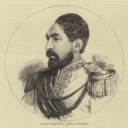 mahomed-yakoob-khan-ameer-of-afghanistan