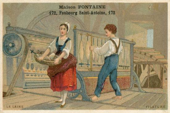 maison-fontaine-trade-card-wool-spinning