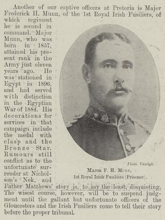 major-f-h-munn-1st-royal-irish-fusiliers-prisoner