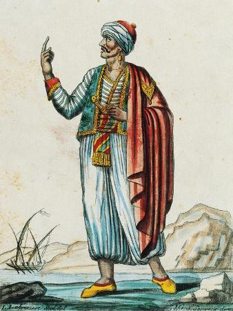 male-costume-from-barbarian-and-muslim-states-color-engraving-from-drawing-by-labrousse