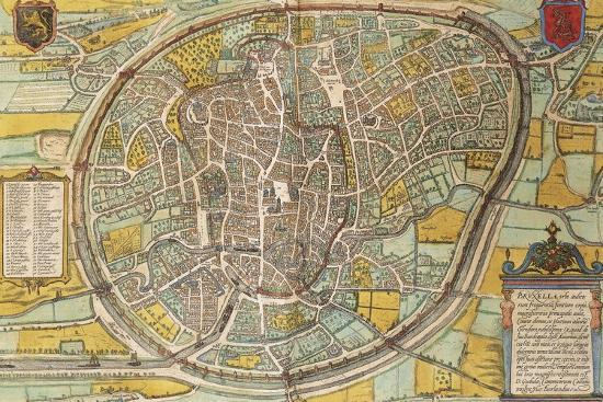 map-of-bruxelles-from-civitates-orbis-terrarum
