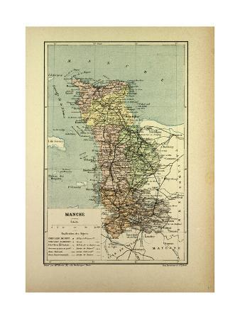 map-of-manche-france