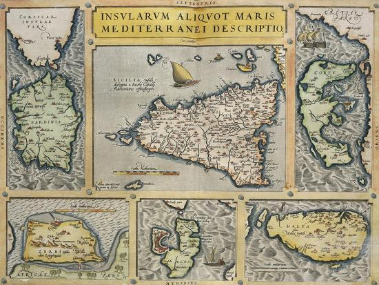 map-of-mediterranean-islands-from-theatrum-orbis-terrarum-by-abraham-ortelius-1528-1598-1570