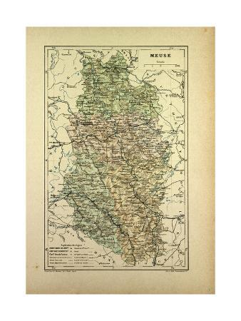 map-of-meuse-france