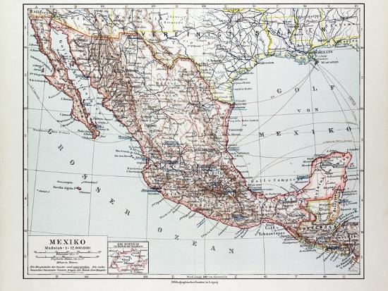 map-of-mexiko-1899