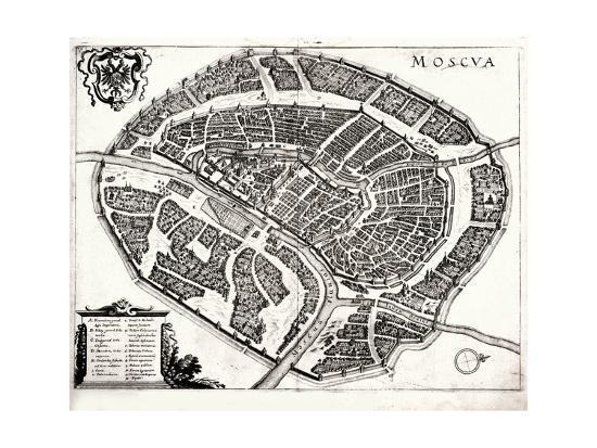 map-of-moscow-1695