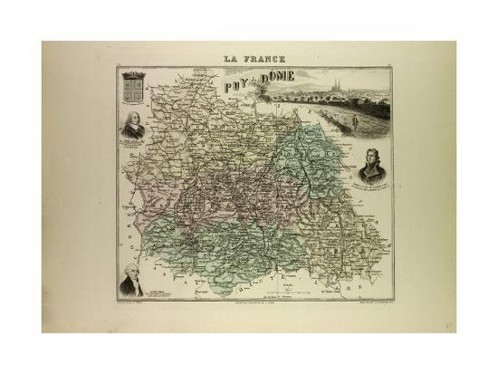 map-of-puy-de-dome-1896-france
