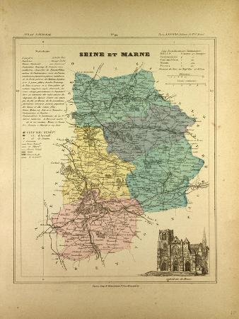 map-of-seine-et-marne-france