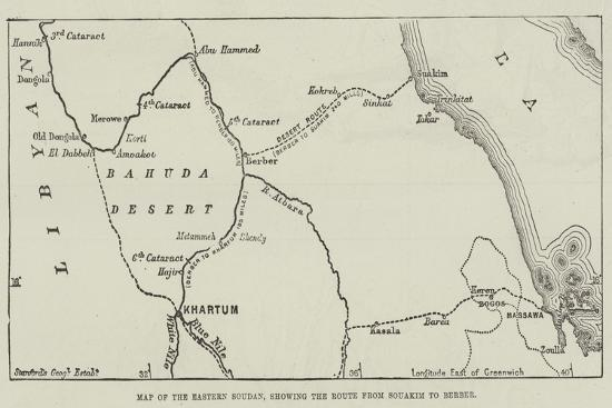 map-of-the-eastern-soudan-showing-the-route-from-souakim-to-berber