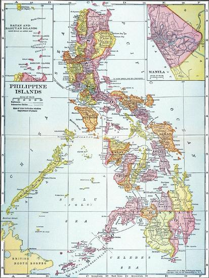 Map philippines 1905 giclee print at art map philippines 1905 publicscrutiny Images