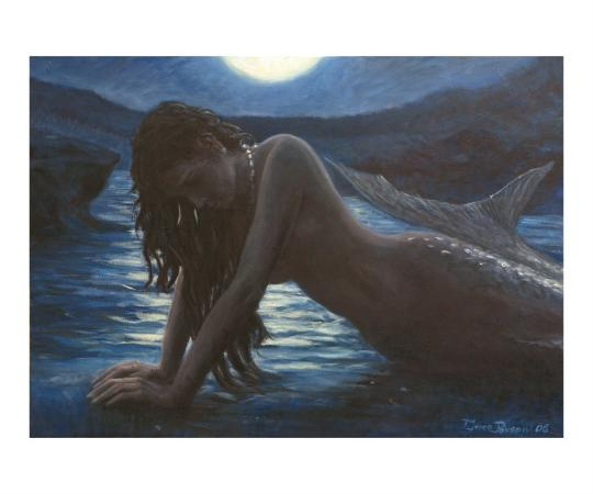marco-busoni-a-mermaid-in-the-moonlight