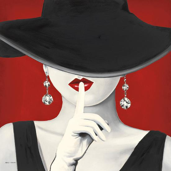 Haute chapeau rouge i art print by marco fabiano at for Haute translation