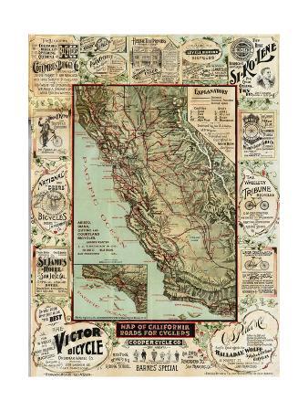 marcus-jules-california-bicycle-map