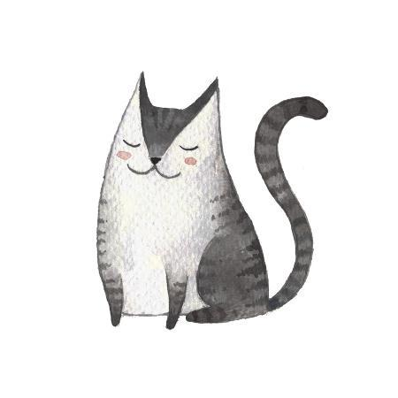 maria-sem-cute-gray-cat-watercolor-kids-illustration-with-domestic-animal-lovely-pet-hand-drawn-illustrati