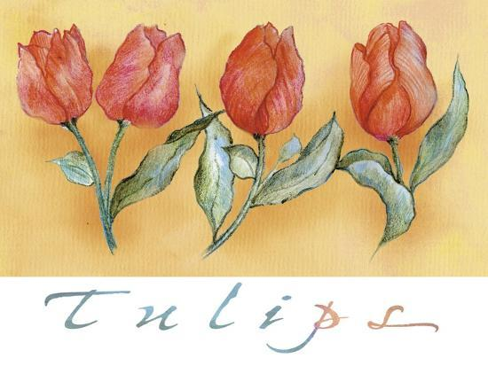 maria-trad-a-watercolor-of-four-red-tulips