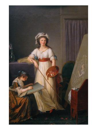 marie-victoire-lemoine-atelier-of-a-painter-probably-madame-vigee-le-brun-1755-1842-and-her-pupil