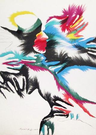 marisol-escobar-blackbird-love