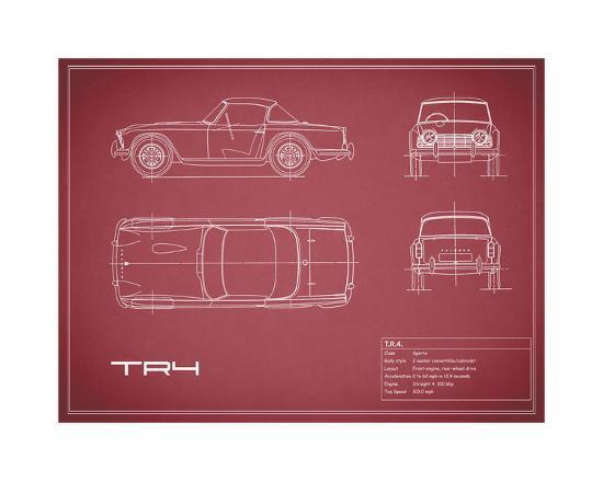 mark-rogan-triumph-tr4-maroon