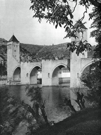 martin-hurlimann-pont-valentre-cahors-france-1937