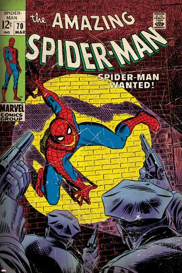 Comic Book Cover Artist Wanted : Marvel comics retro the amazing spider man comic book