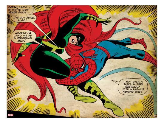 marvel-comics-retro-the-amazing-spider-man-comic-panel-medusa-aged