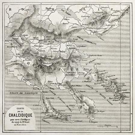 marzolino-chalkidiki-old-map-greece-created-by-vuillemin-published-on-le-tour-du-monde-paris-1860