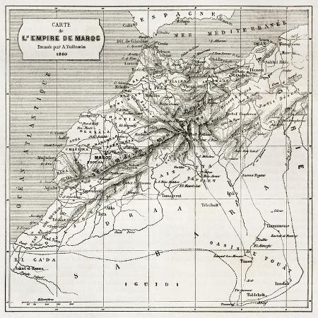 marzolino-morocco-old-map-created-by-erhard-and-bonaparte-published-on-le-tour-du-monde-paris-1860