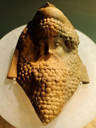 mask-of-dionysus-sculpture-from-kherson-ukraine