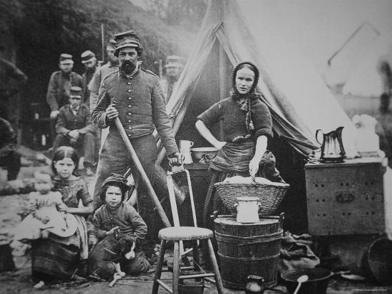 mathew-brady-union-soldier-of-31st-pennsylvania-regiment-with-family-in-camp-slocum-near-washington-d-c-1862