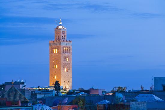 matthew-williams-ellis-koutoubia-mosque-minaret-at-night-marrakech-morocco-north-africa-africa
