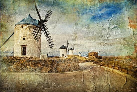 maugli-l-windmills-of-spain-picture-in-painting-style