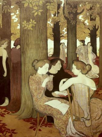 maurice-denis-the-muses