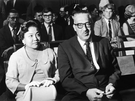maurice-sorrell-cecelie-and-thurgood-marshall-await-outcome-at-senate-judiciary-committee-hearings-1967