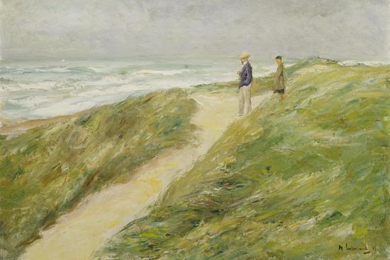max-liebermann-at-the-beach-of-katwijk-c-1909