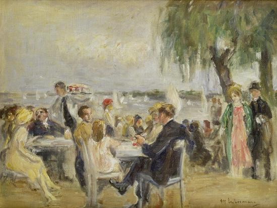 max-liebermann-garden-cafe-on-the-river-elbe-ca-1922