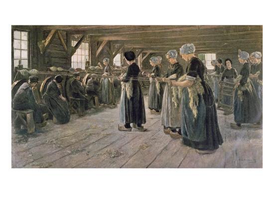 max-liebermann-spinning-workshop-in-laren-1889