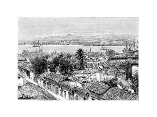 maynard-general-view-of-santiago-cuba-c1890