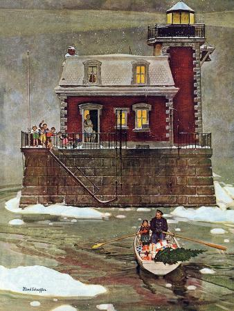 mead-schaeffer-christmas-at-the-lighthouse-december-28-1946