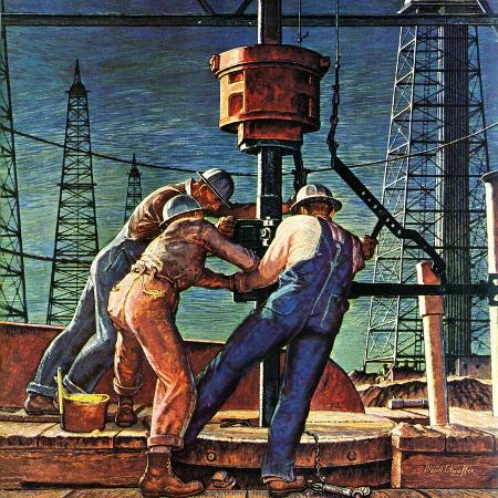 mead-schaeffer-drilling-for-oil-november-9-1946