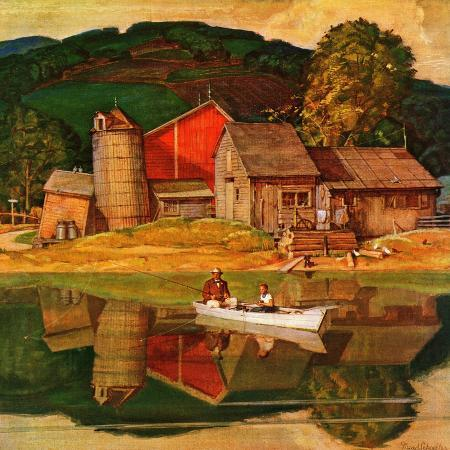 mead-schaeffer-farm-pond-landscape-july-28-1945